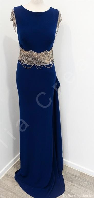 Création robe soirée Saint-Galmier