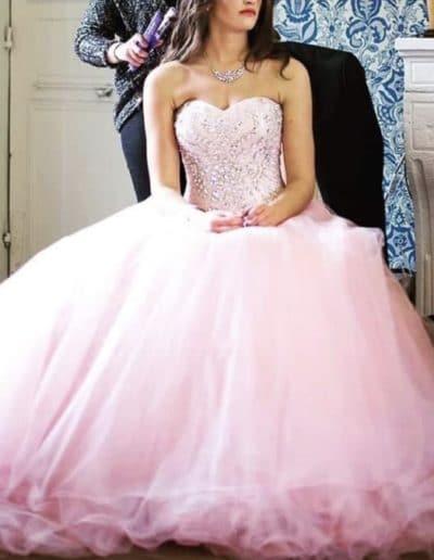 Création robe de mariée Saint-Etienne